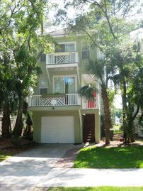 Fripp Island house rental - The Reach - 738 Bonito Drive on Ocean Creek GC