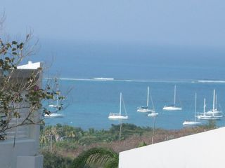 St. Croix villa photo - Watch the boats in the harbor from the Reef's pool.
