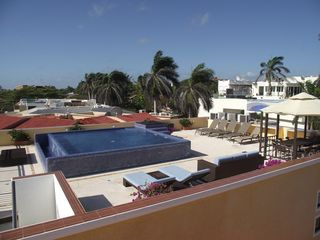 Playacar house photo - Full view of the roof terrace area!