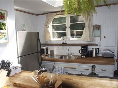 Country style kitchen with all amenities.