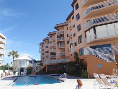 Indian Shores condo rental - Private Pool Area
