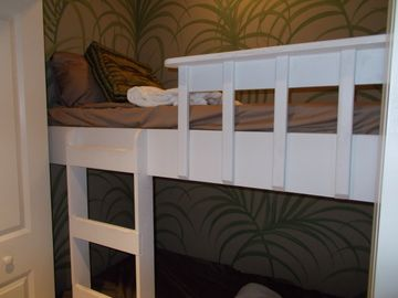 With the bunk beds the unit can sleep 6 - Call Kelli at 800-933-6068
