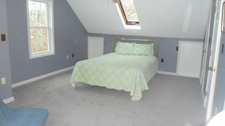 Orleans house photo - Master bedroom with skylight
