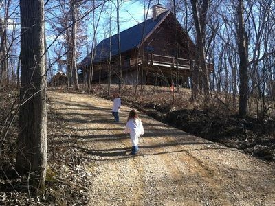 Apple Canyon Lake Log Cabin In The Woods Vacation Rental