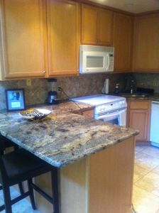 Fully Stocked kitchen with new Granite countertops