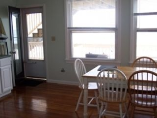 Old Orchard Beach apartment photo - looking out to the deck