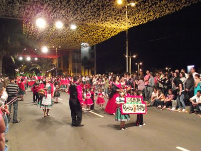 Annual festival in Calheta