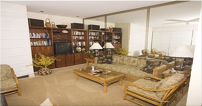 Wailea condo rental - Living Room