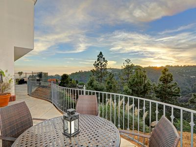 Perfect place to relax & enjoy the view after exploring Los Angeles