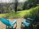 Lovely backyard with frequent deer & wildlife sightings. A bird lover paradise!
