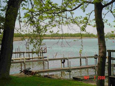 Docks at Cottage on the Sandusky River