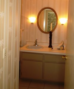 Downstairs Powder Room
