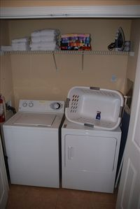 Windermere condo rental - Full Size Washer and Dryer