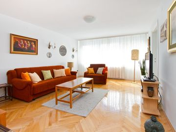 Zagreb apartment rental - Lounge Room