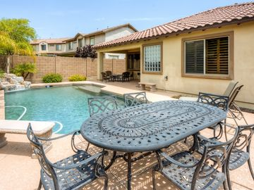 Peoria house rental - You'll love spending your downtime relaxing by the private swimming pool.