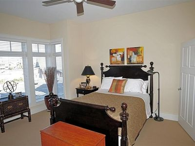 Guest bedroom (queen size bed) with television. It has its own private bathroom.