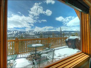 Breckenridge townhome photo - Spectacular Views Right Off the Deck