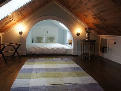 Loft with 2 skylights