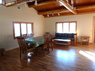 Absarokee cabin photo - Newly Remodeled!! New surround deck overlooking the river.