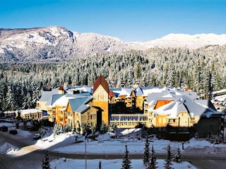Whistler house photo - Exterior of Resort in Winter at the Club Intrawest Whistler Resort
