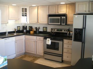 Capri Ocean City condo photo - Full kitchen
