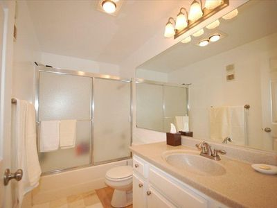 Large Guest Bath with tub and shower