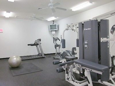 Gym with First Class Equipment