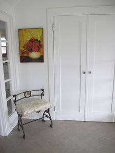 Mud room entrance by back door