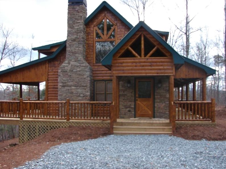 Safe Haven New Luxury Custom Log Home Vrbo