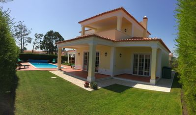 Villa Chloe, Pool and Gardens