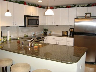 Fully Furnished Kitchen**Panama City Beach Condo**Grand Panama