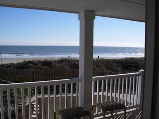 Isle of Palms condo photo - Sit back and watch the wves roll in.