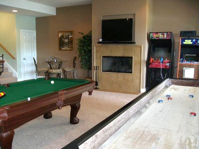 For Young & Old...A Dream of a Game Room!