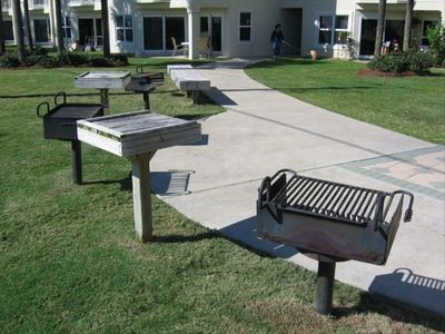 BBQ area - next to 2nd pool near the beach