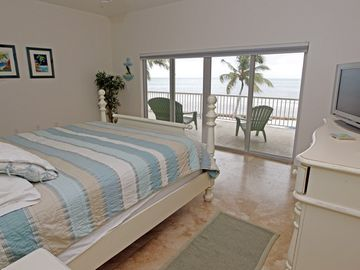 The white room, ocean front,no need to ever lift your head from the pillow !