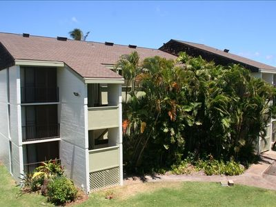 View of Haleiwa Surf- Beachfront Condo's