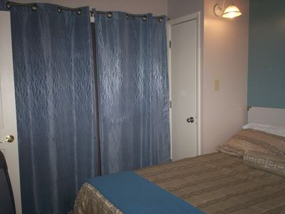 Bedroom 2, doors to Balcony that over looks Winterplace Ski Resort.