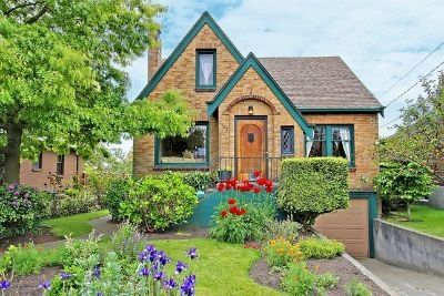 Our 1934 Brick Tudor - Separate Entrance for Rental