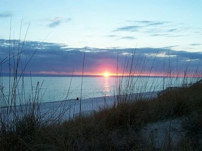 ONE OF THE GEORGEOUS SUNSETS YOU WILL SEE AT SURFSIDE!!!