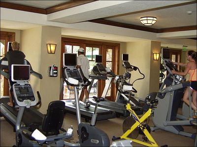 Ritz Carlton Fitness Center