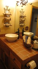Crested Butte cottage photo - Bathroom 2 - pour faucet & bowl sink