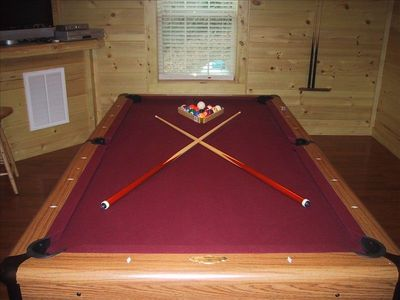 Enjoy a game of pool.