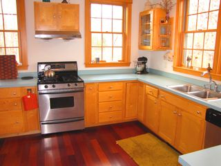 West Tisbury house photo - Gorgeous Kitchen w Stainless Steel appliances