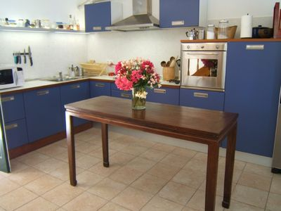 Barbati villa rental - Kitchen