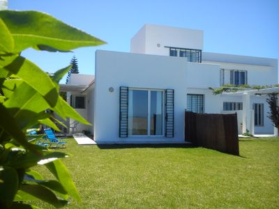 2 Bungalows in Sanlucar garden by the sea, beach, overlooking Doñana