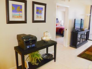 Hutchinson Island condo photo - Flatscreen TV, all-in-one wireless printer Private secure wireless Internet