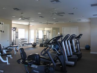 Bonita Springs townhome photo - Top of the line equipment in fitness center