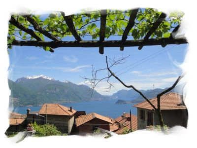 Apartment with charming lake view, garden and private parking in an ancient stately home - Lake Como