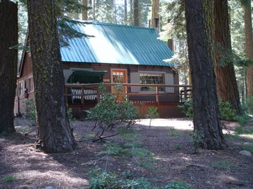 Pinecrest cabin rental - Front of cabin