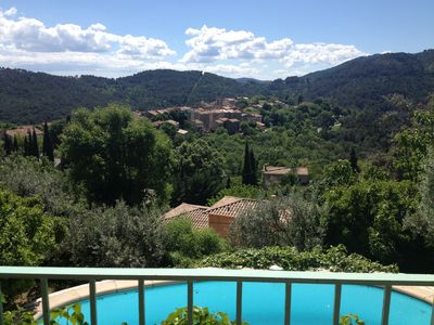 Charming villa in Claviers with private pool and astonishing view